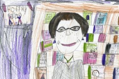 Nancy Brown as portrayed by her grand-daughter Sophia